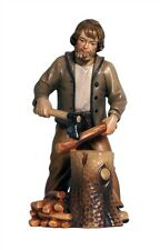 Woodcutter, statue wood carving for Nativity set mod. 912