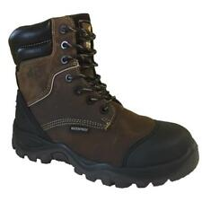 Buckler Buckshot BSH008 S3 HRO brown Leather Waterproof Lace/Zip safety boots