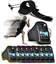 "Sports Running Armband Case Holder with Earphone for LG Optimus Zone 3 (4.5"")"