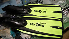 TECHNISUB AQUA LUNG Caravelle PINNE Sub Snorkeling - LIME Fluo - NUOVE Super!