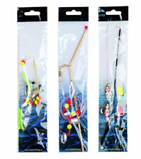 Fladen Boom Rig with Beads - 3 Models Fluke Rig Sea Compartment Fluder