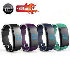Bluetooth Smart Watch Wristband GSM Heart Rate Monitor Fitness Activity Tracker
