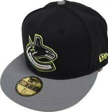 New Era Vancouver Canucks Cap Black 59fifty Fitted 5950 NHL LIMITADO EDITION