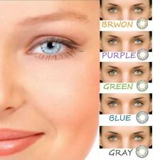 Girlsight 5 colors Contact Lenses New Beaty Color Soft Cosmetic Makeup- Pineappl