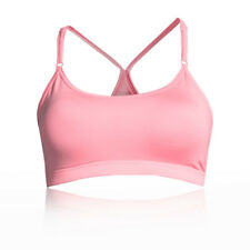 Casall Womens Glorious Sports Support Bra Top Pink Gym Breathable Lightweight