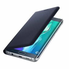 Samsung Galaxy S6 EDGE+ FLIP COVER/WALLET NAVY BLUE or GOLD 24Hr Post Boxed