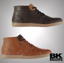 Mens Branded British Knights Stylish Copal Mid Top Trainers Footwear Size 7-12