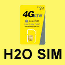 USA H2O Wireless in AT&T Netz TRIPLE  3in1 LTE Prepaid SIM Karte unaktiviert NEU