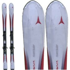 Ski occasion Atomic Varioserie rouge/blanc + fixations