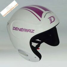 Casco esquí Deneriaz Thunder blanco purple