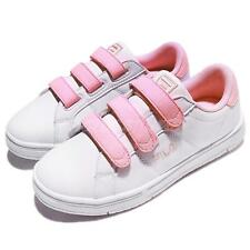 Fila C321S Strap White Pink Women Shoes Sneakers Trainers