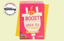 t + boost vitamin tea raspberry & pomegranate 15 Sachets