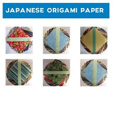 Japanese Origami paper, 24 Sheets per pack, 3 sizes - 10x10cm, 15x15cm, 20x20cm
