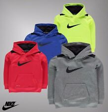Infant Boys Nike Swoosh Logo Therma Elasticated Base And Cuffs Warm OTH Hoody