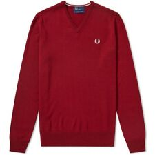 Fred Perry Classic V Neck Knit K7210 E99 Jersey