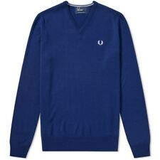 Fred Perry Classic V Neck Knit K7210 143 Jersey