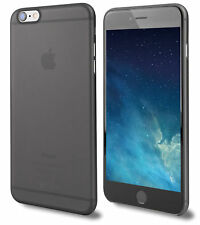 Ultra Thin Slim Hard 0.3mm Cover Case Skin Air Case for iPhone 5 6 7 8 Black