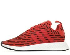 2018 Adidas Originals NMD R2 Prime knit PK ® ( Men Sizes UK: 7 -12 ) Red BY2098