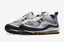 Nike AIR MAX 98 OG QS TOUR YELLOW 2018  6 7 8 9 10 11 12 WHITE YELLOW NAVY DS