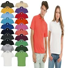 B&C Collection Id.001 Polo Men's T-Shirt-Short SleeveTee-(PU110)-100% Cotton