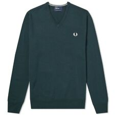 Fred Perry Classic V Neck Knit K7210 F01 Jersey