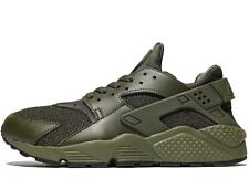 Authentic Nike Air Huarache ® ( Men Size UK 9 EUR 44 ) Triple Khaki Cargo Olive