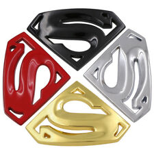 Hot 3D Superman Chrome Metal Auto Car Motorcycle Logo Sticker Badge Emblem Decal