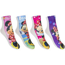 Lote 2,4,6 Calcetines MINNIE MOUSE Calidad Alta Colores Surtidos - QE4730
