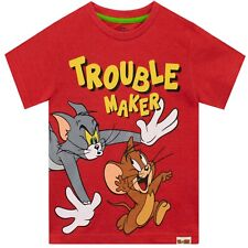 Tom & Jerry T-Shirt | Kids Tom and Jerry Tee | Boys Tom And Jerry Top