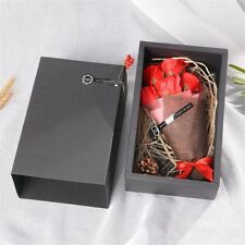 Gift Box For Special Occasions Party Decor Scented Soap Roses Artificial Bouquet