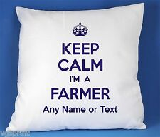 Keep Calm I'm a AGRICULTEUR SATIN LUXE polyester
