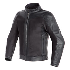 Giacca pelle tessuto moto Dainese Corbin D-dry touring 4 stagioni impermeabile