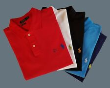 Ralph Lauren Polo Shirt Pony Hemd Herren Kurzarm Poloshirt Small Pony Polo-Shirt