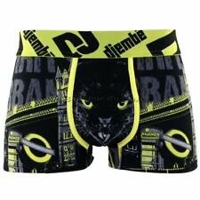 DJEMBE Boxer Homme Coton PANTHER Jaune