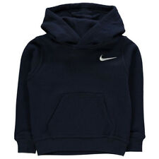 Nike Boys Hoodie Team Club Sweatshirt Black or Navy 3 to 5 Years Brand New