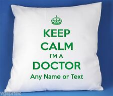 Keep Calm I'm a Doctor SATIN LUXE polyester