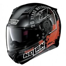 Casco integrale moto Nolan N87 Iconic Replica Checa N-com flat black 34 Ncom