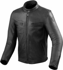 Chaqueta de cuero motorrad Revit Rev'It Gibson negro Black