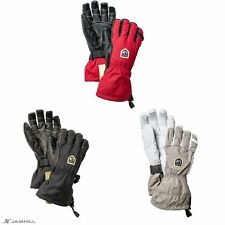 Hestra Army Leather Ergo Grip breathable & waterproof ski gloves. New