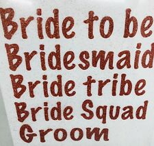 Vinyl iron on transfers bridal party stickers iron on transfers hen party ideas