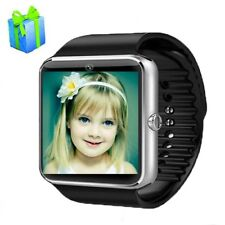 Smart Watch W/ Camera Bluetooth Android Phone SIM Card MP3 Fitness Waterproof