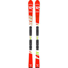 ROSSIGNOL SKI HERO FIS SL R21 RACING + FIXATIONS SPX 12 ROCKERFLEX WHITE ICON