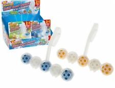 5 BALL 2 IN 1 POWERBALL  TOILET BOWL CLIP  ON CLEANER & AIR FRESHENER