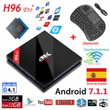3+32GB H96 Pro Plus Android 7.1 Amlogic S912 Dual WiFi 4K TV BOX + Mini Teclado