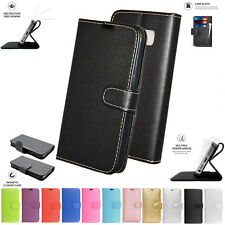 PU Leather Book Wallet Card Flip Stand Case Cover Pouch For Huawei Y560 Y5