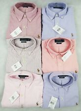 Ralph Lauren CUSTOM FIT Shirt OXFORD Style BRAND NEW WITH TAG