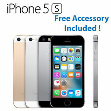 Apple iPhone 5S 16GB 32GB Silver Grey Gold Network Unlock Smartphone - A+ Grade
