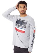 DC Grey Heather Mad Racer Long Sleeved T-Shirt