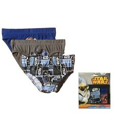 Boys Star Wars Briefs 3 Pack Pants Size 2-3 Years, 6-8 Years