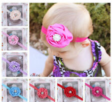 New Baby Girls Hair Band with Flower Pearl & Diamante Fashion Accessory